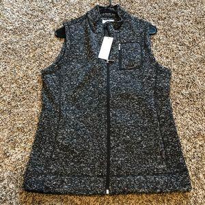 NWT Calvin Klein Heather Gray Vest!!